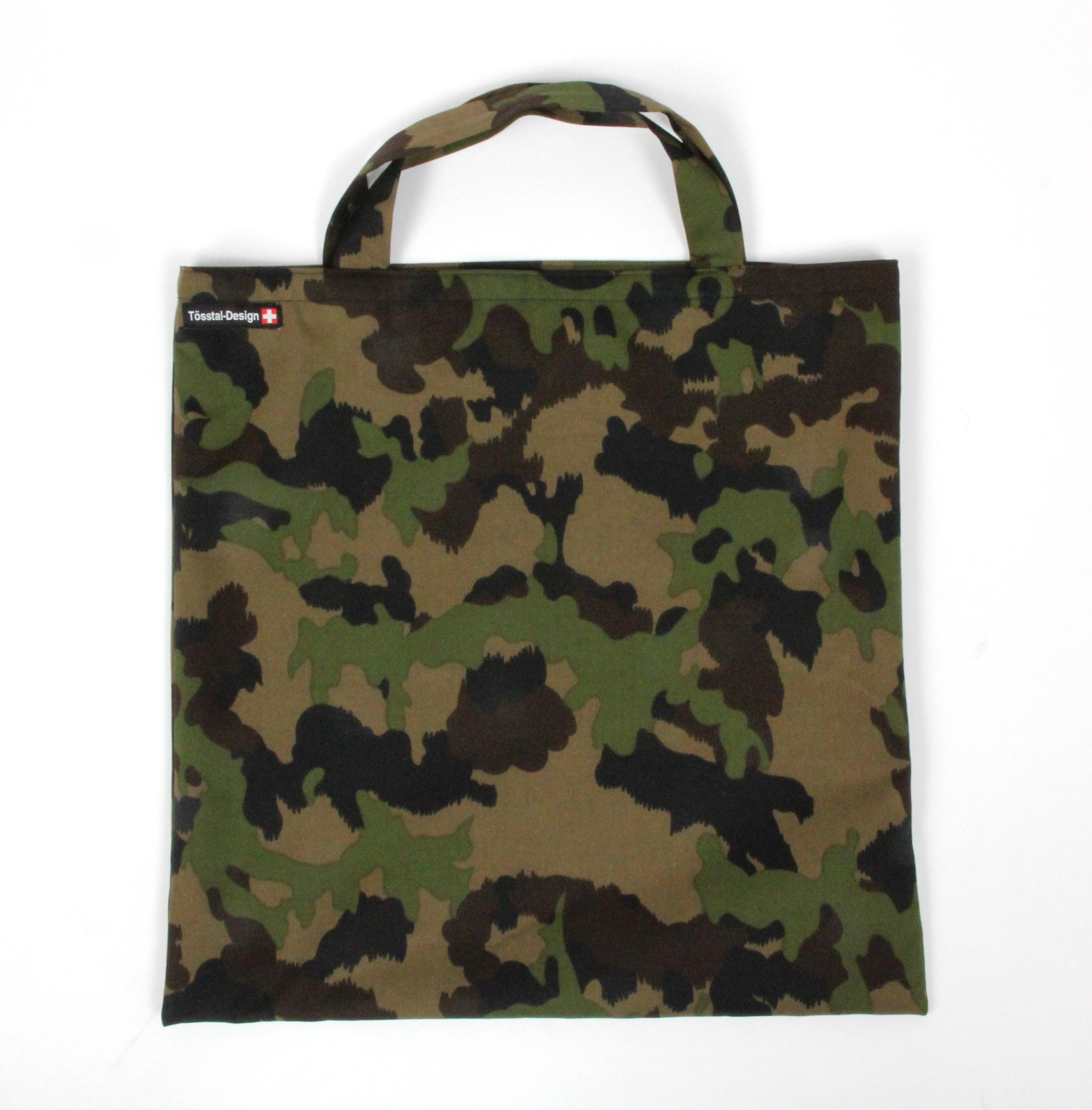 Einkaufstasche Stoff Military  für harte Männer