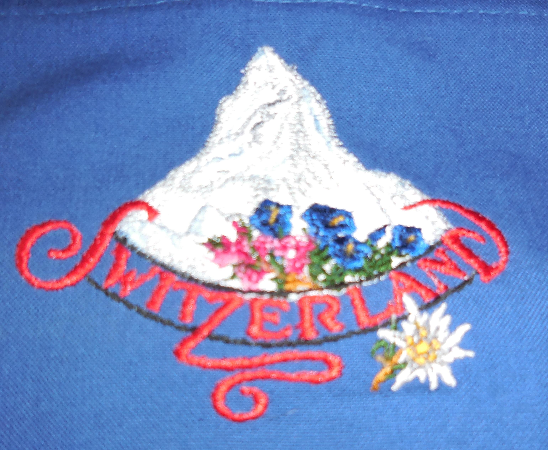 Hirthemd  mit Kapuze, Stickerei Matterhorn, Kind