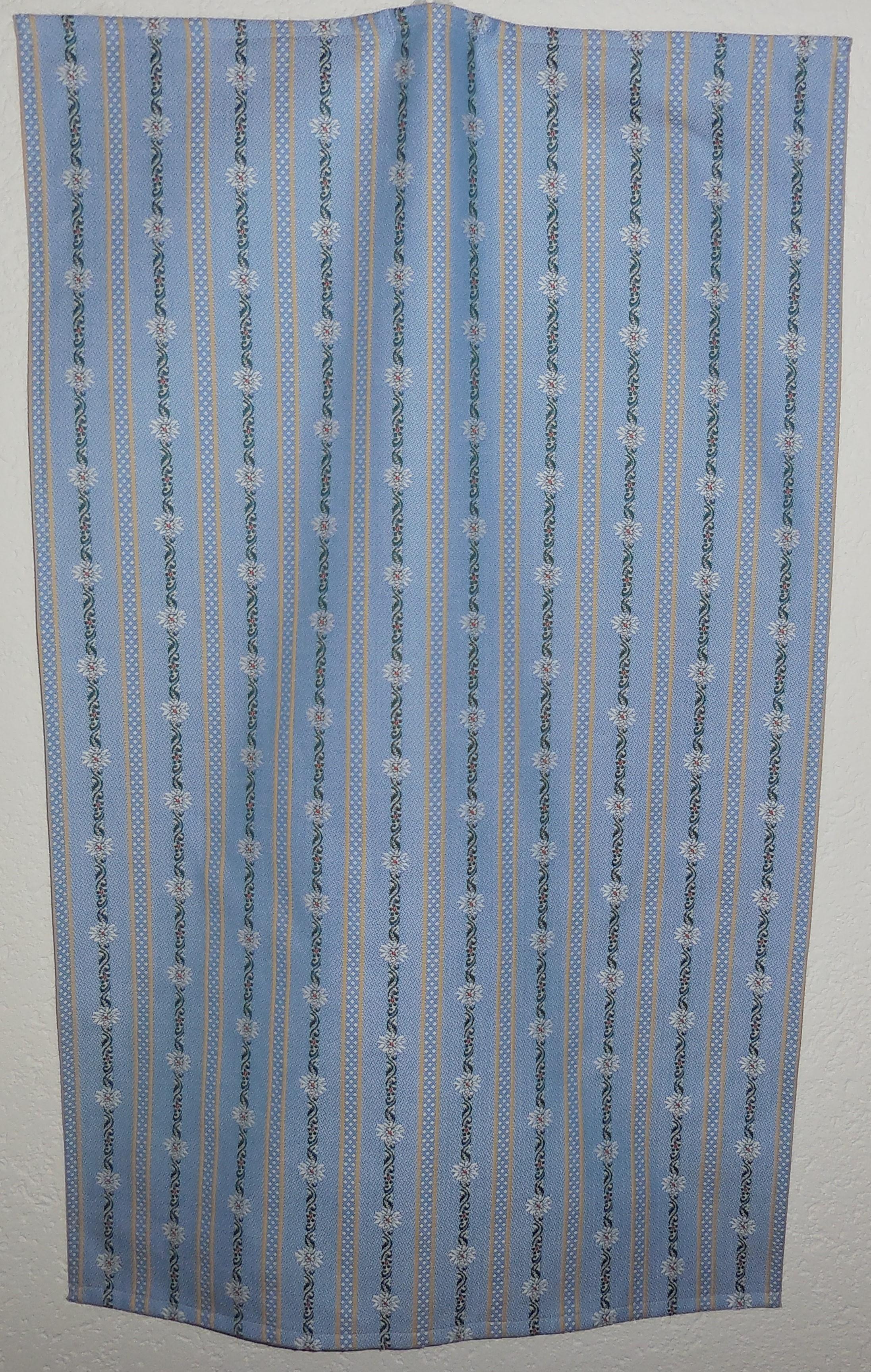 Handtuch / Küchentuch Edelweiss  hellblau