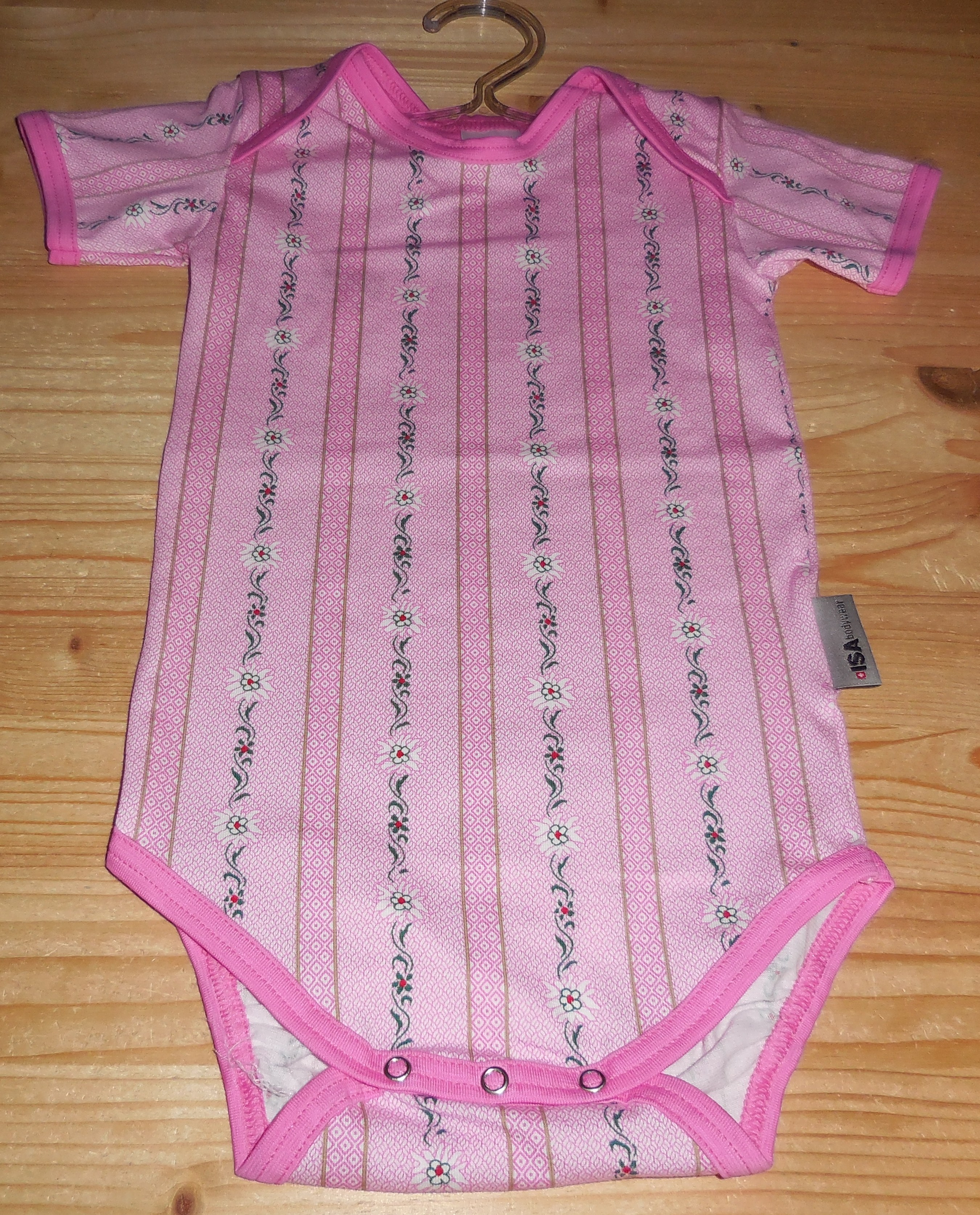 Baby Body Edelweiss pink