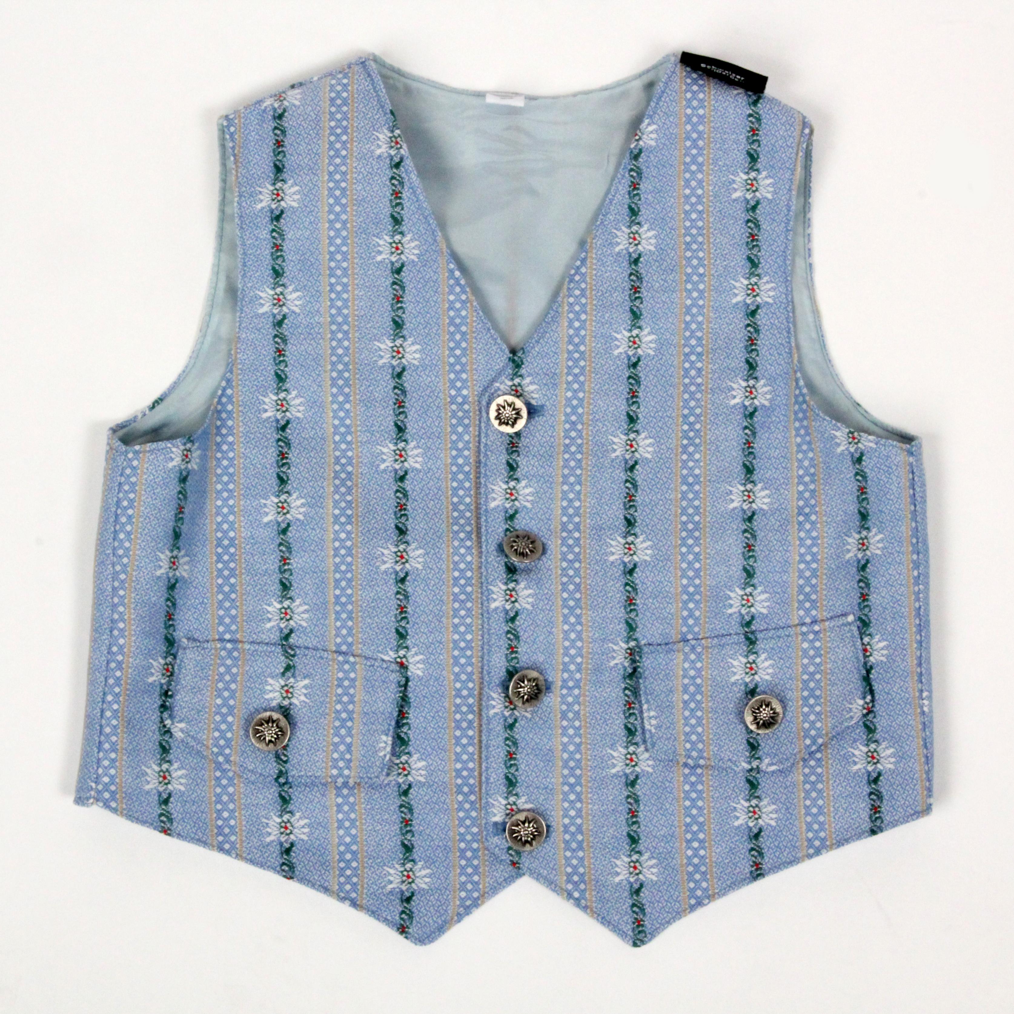 Edelweiss Gilet hellblau, Kind