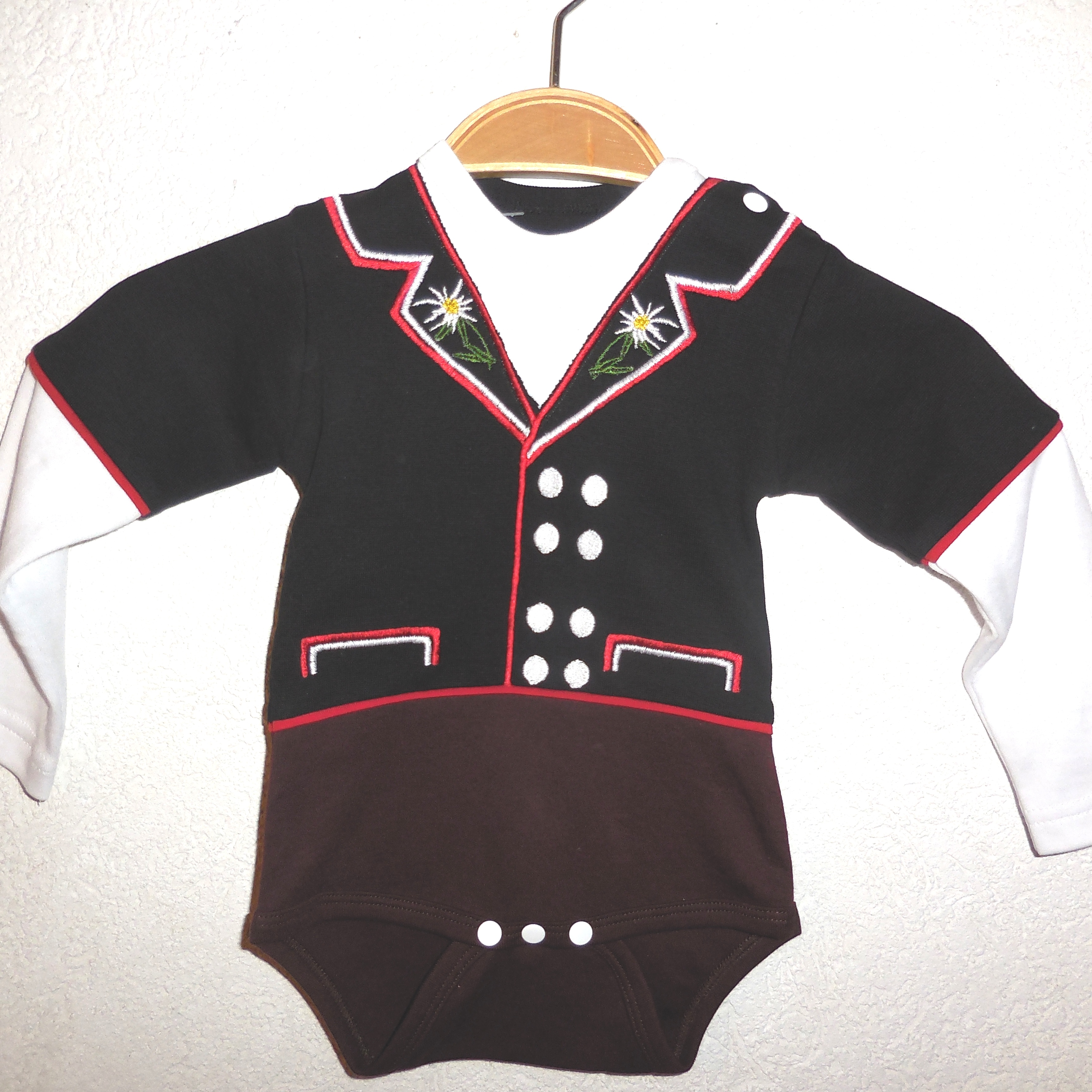 Baby Body CH Jodlermutz, Langarm