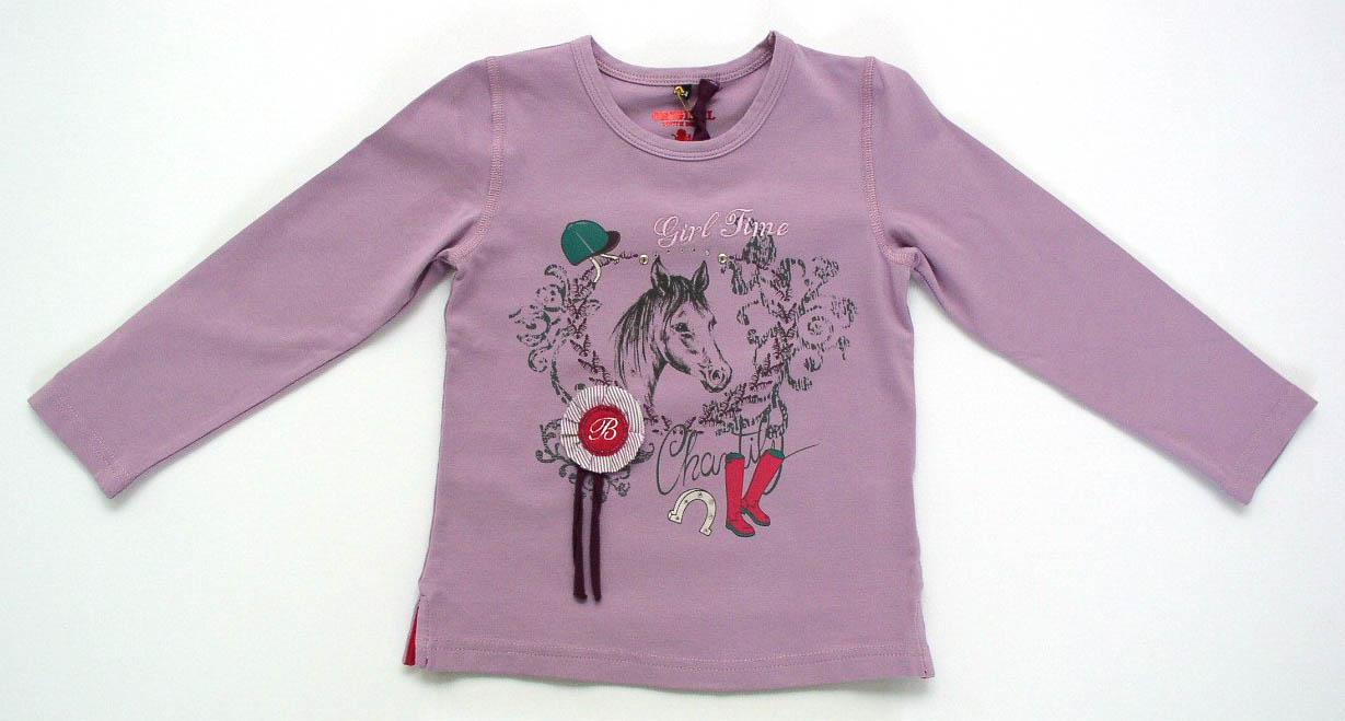 Shirt mit Pferde Motiven.