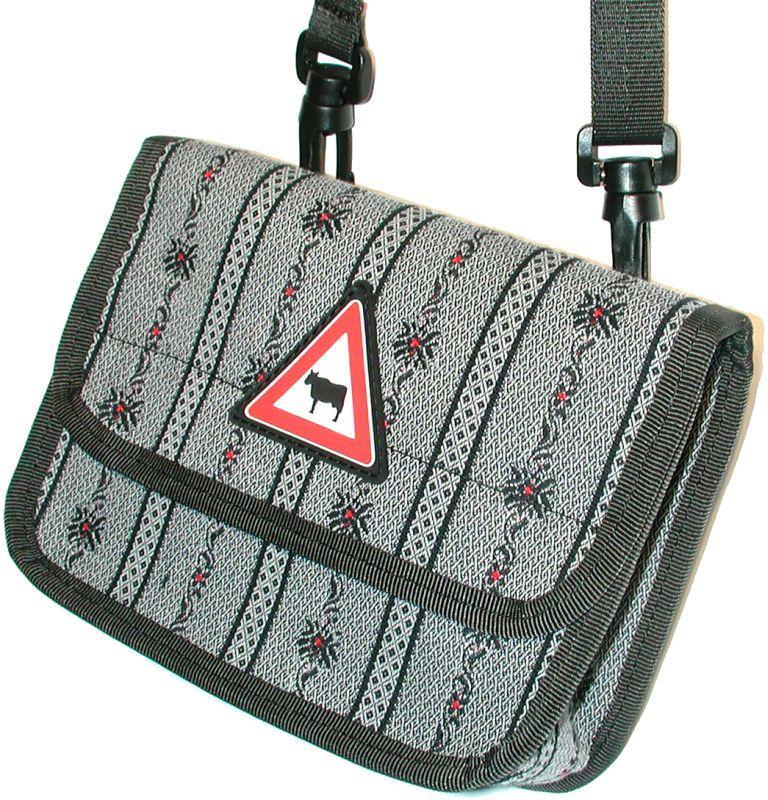 Edelweiss mini Bag, anthrazit