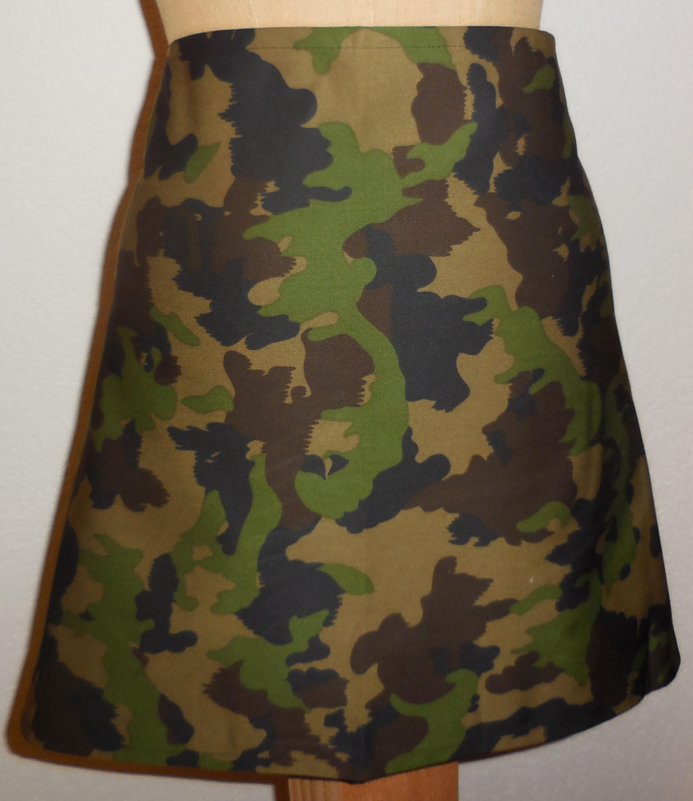 Bistro Schürze Military, feldgrün